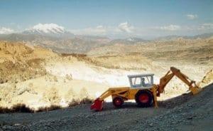 JCB Vintage style groundworks digger