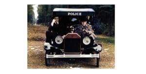 Bugsy malone police car restoration