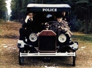 Bugsy police car restoration
